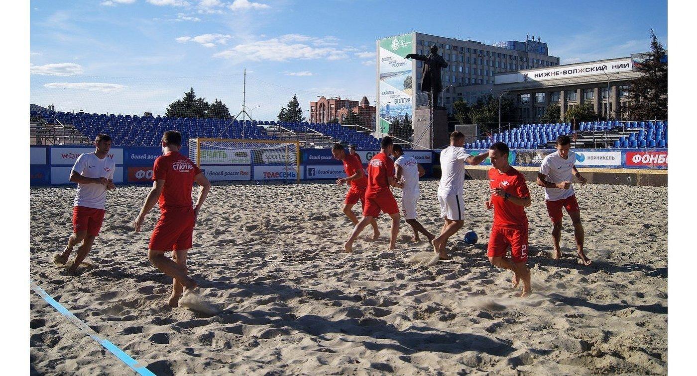 «Кристалл» и«Локомотив» сыграют вфинале чемпионата РФ попляжному футболу