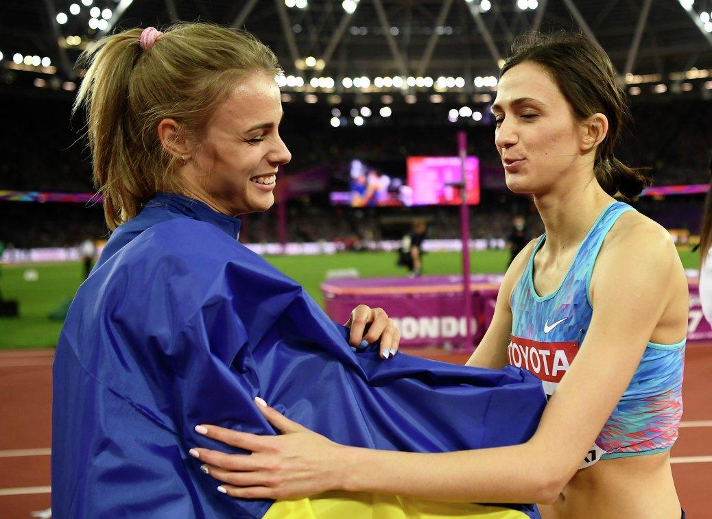 Юлия Левченко и Мария Ласицкене (слева направо)