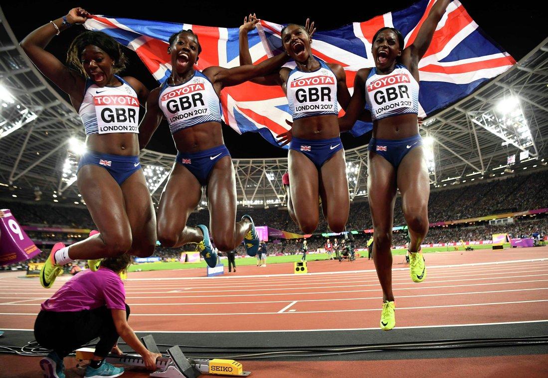 Женская сборная Великобритании по лёгкой атлетике