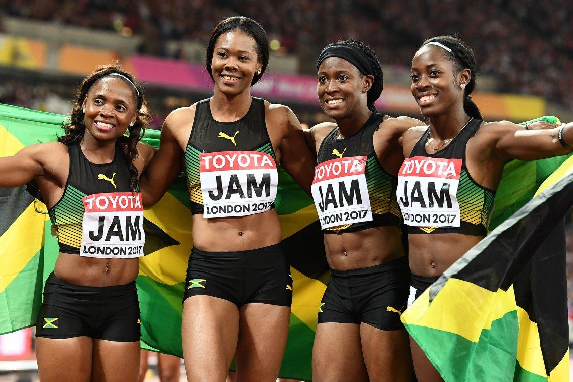 Женская сборной Ямайки по лёгкой атлетике