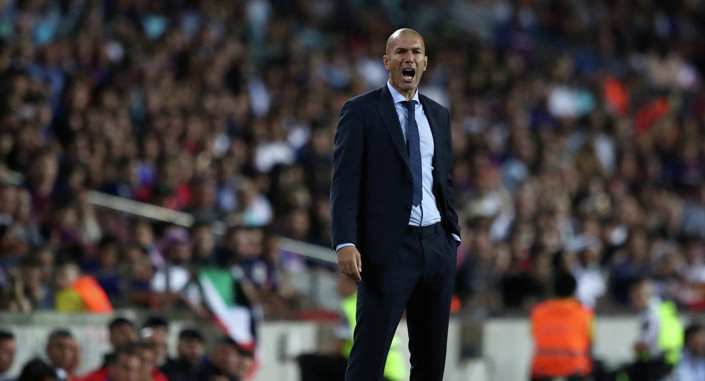 Зидан: не хотел бы сыграть с Ювентусом в 18 Лиги чемпионов