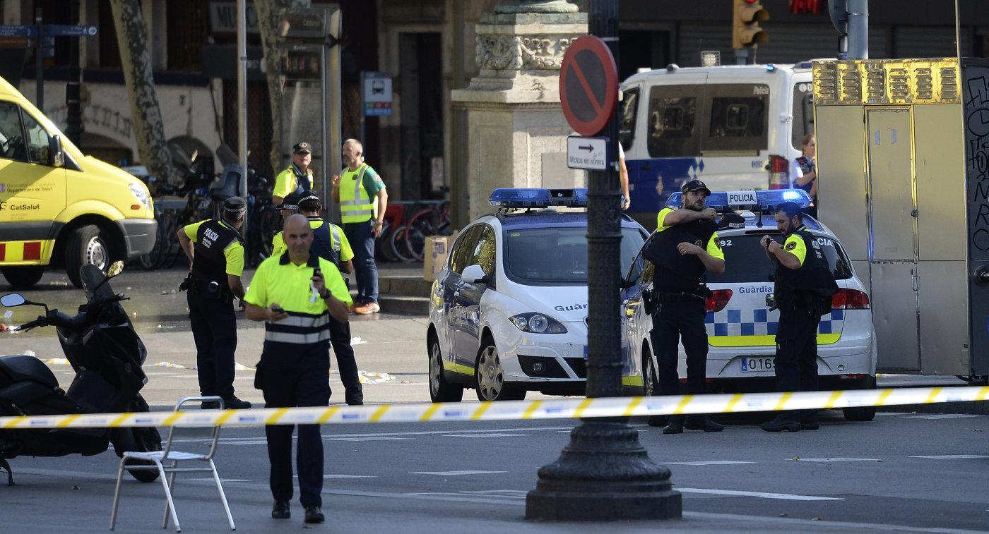 Собянин выразил сожаления родным погибших при теракте вБарселоне