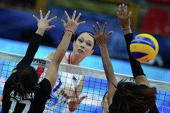 Диагональная сборная России Екатерина Гамова