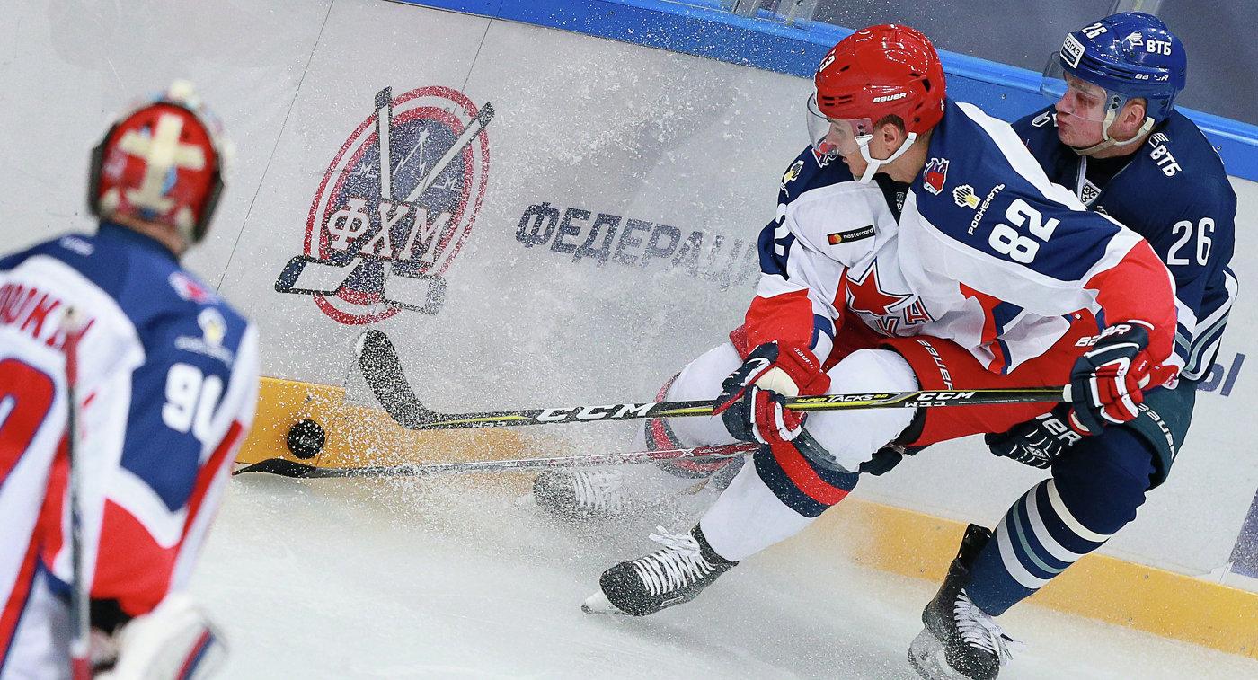 Хоккеисты ЦСКА обыграли «Северсталь» вматче чемпионата КХЛ