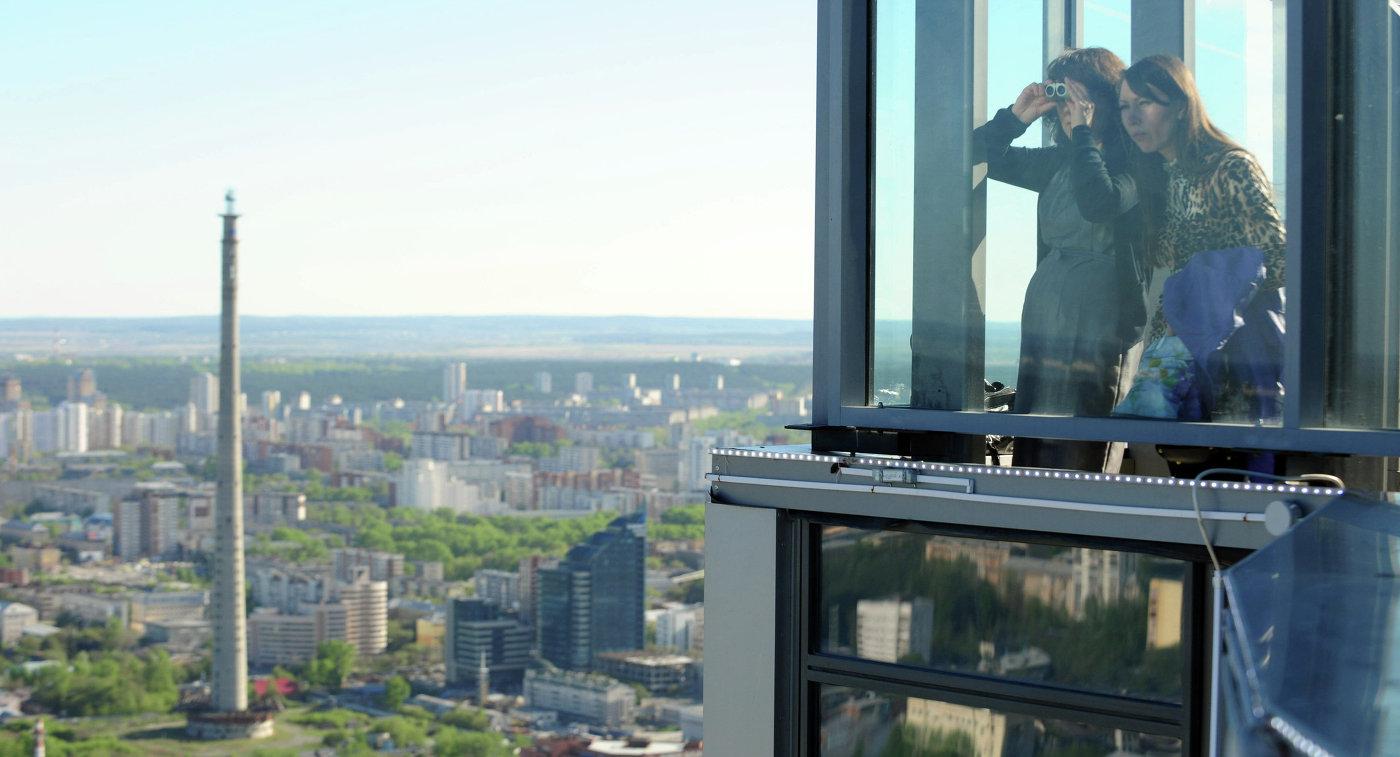 Телебашня в Екатеринбурге