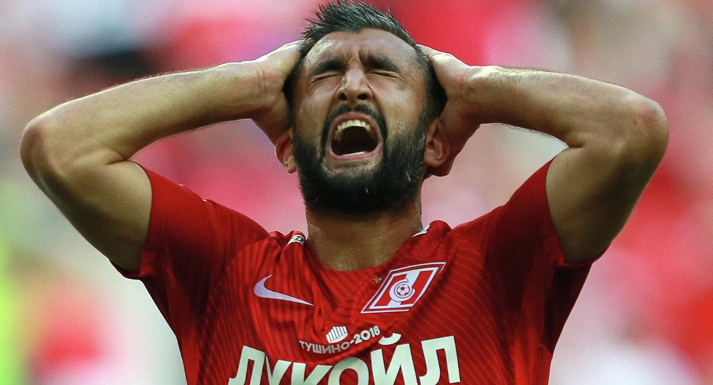 Прошу извинения! Проиграли из-за меня— Игрок «Спартака» Самедов