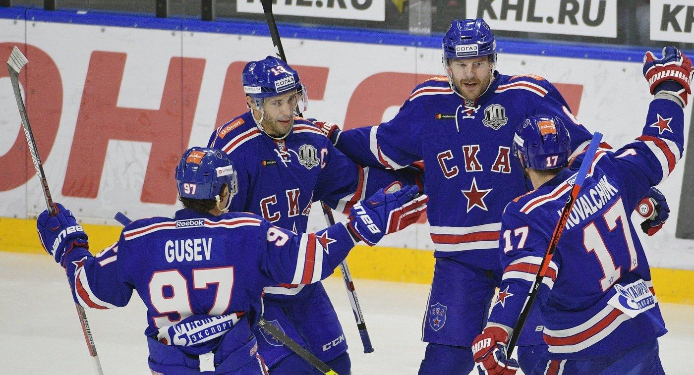 СКА обыграл нижегородское «Торпедо» только  побуллитам