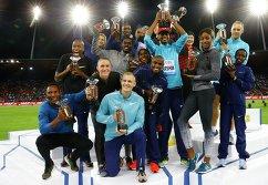 Все призеры этапа Бриллиантовой лиги в Цюрихе