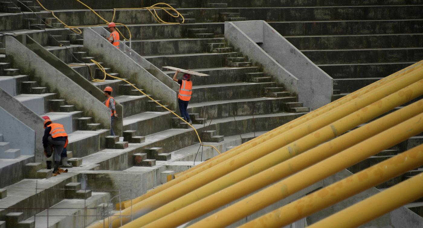 «Мордовия Арена» может сохранить вместимость в44 тысячи после ЧМ-2018— подрядчик