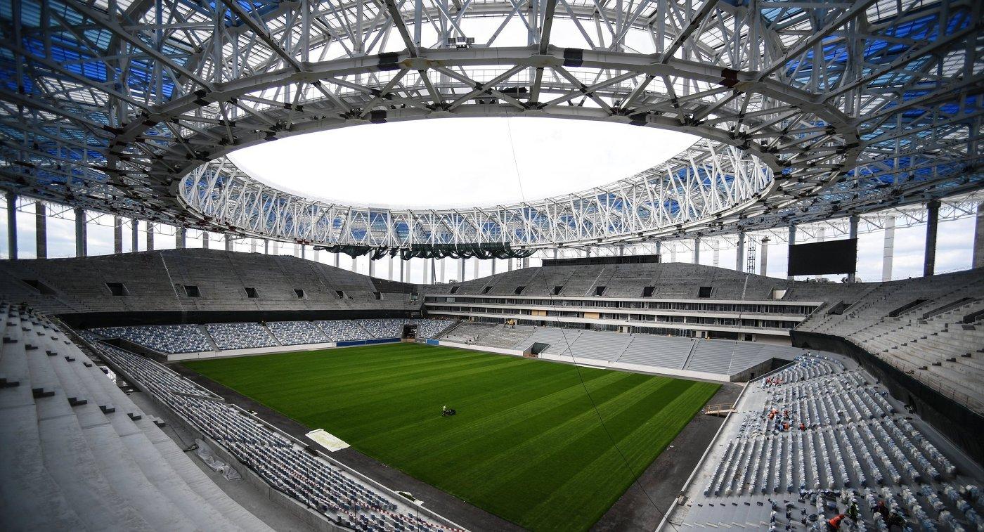 1-ый матч настадионе «Нижний Новгород» состоится 8октября