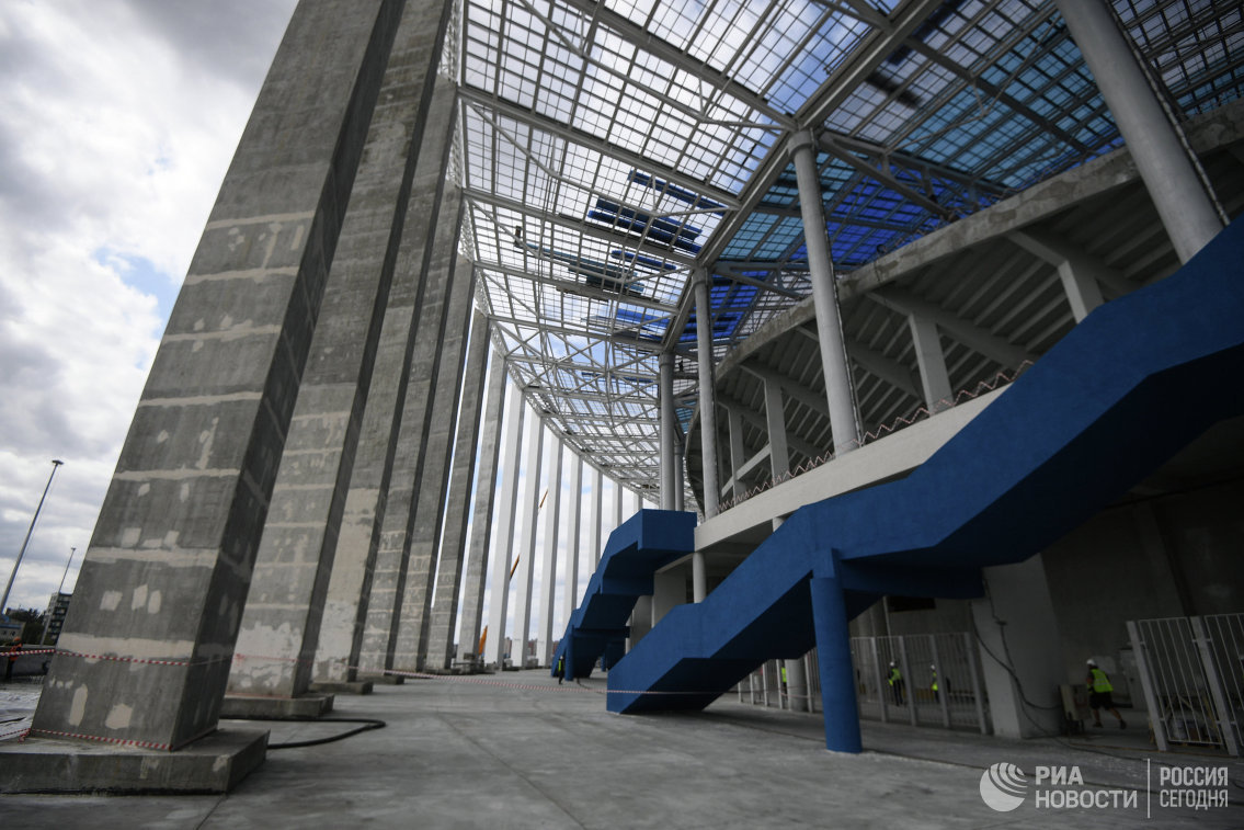 Стала известна дата первого матча настадионе «Нижний Новгород»