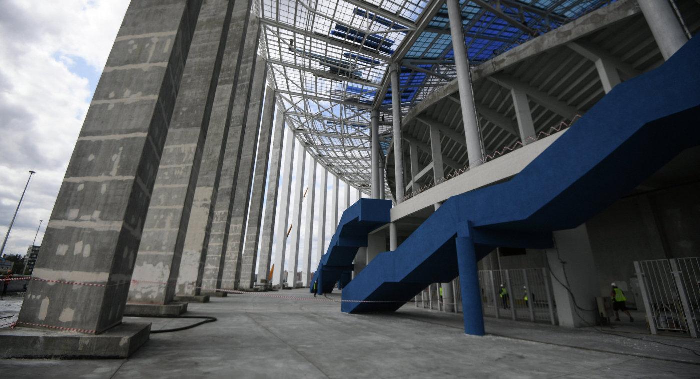 Стадион вНижнем Новгороде введён вэксплуатацию