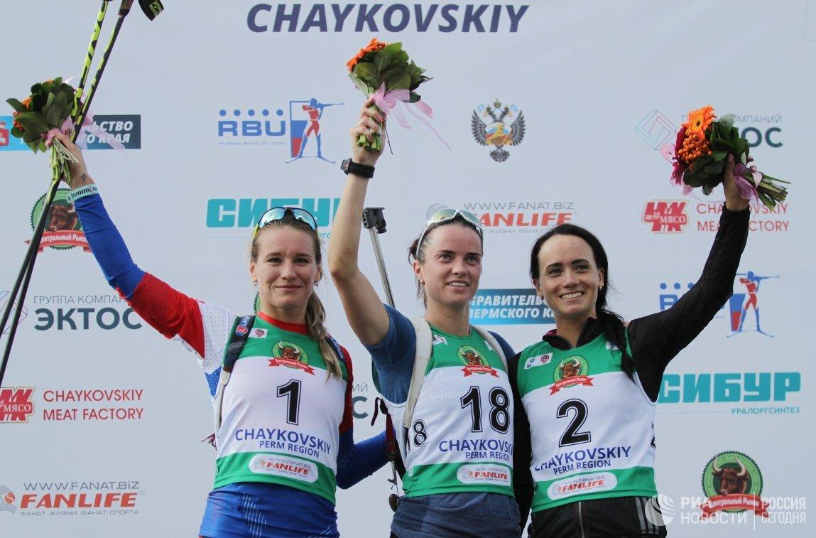 Паулина Фиалкова, Светлана Слепцова и Ольга Дмитриева (слева направо)
