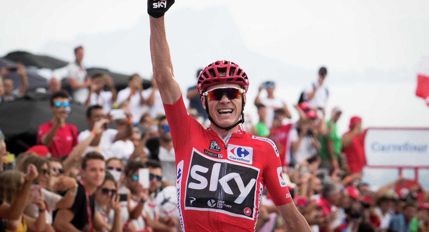 Фрум одержал победу девятый этап «Вуэльты Испании»