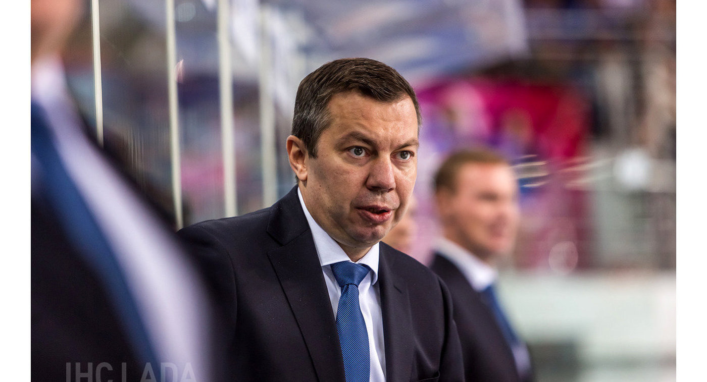 Главный тренер магнитогорского Металлурга Илья Воробьев