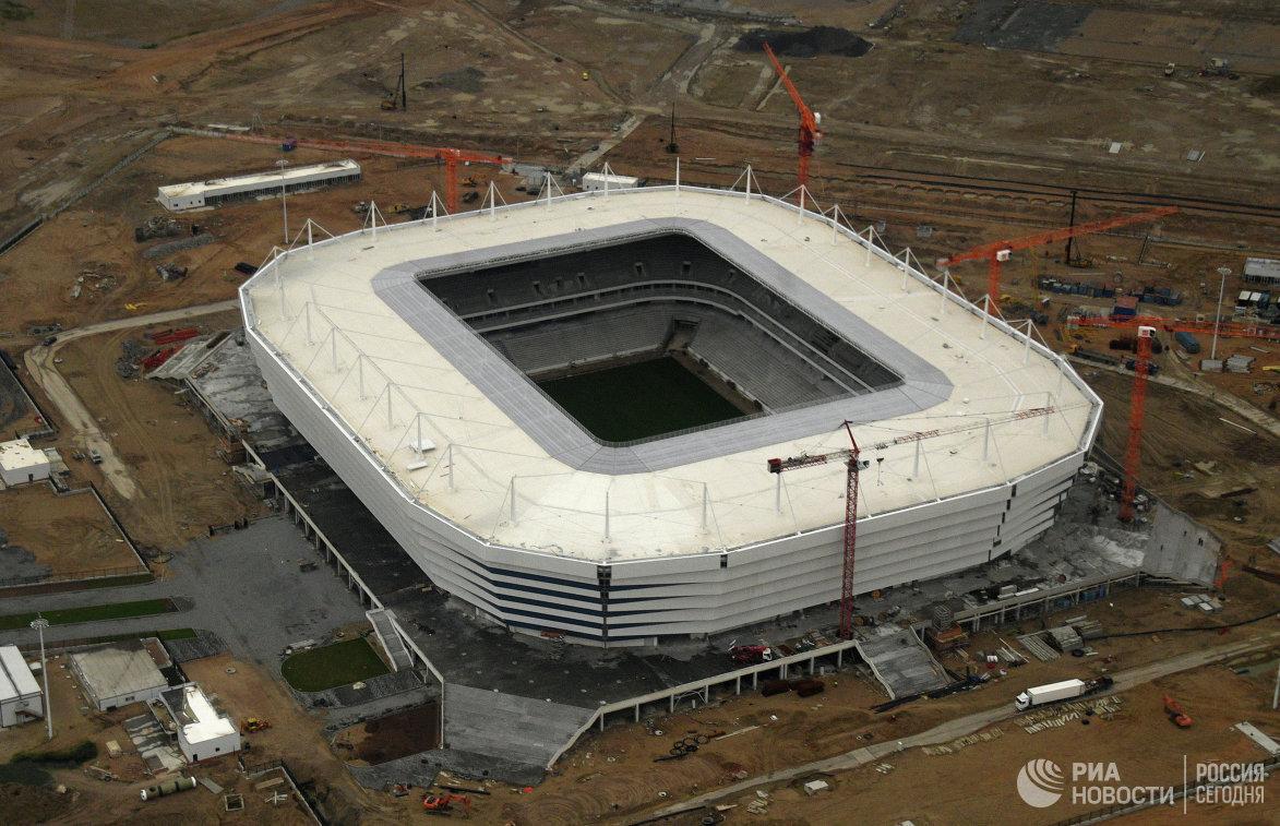 сарафан стадион калининград фото строительства внушительные размеры, универсальное
