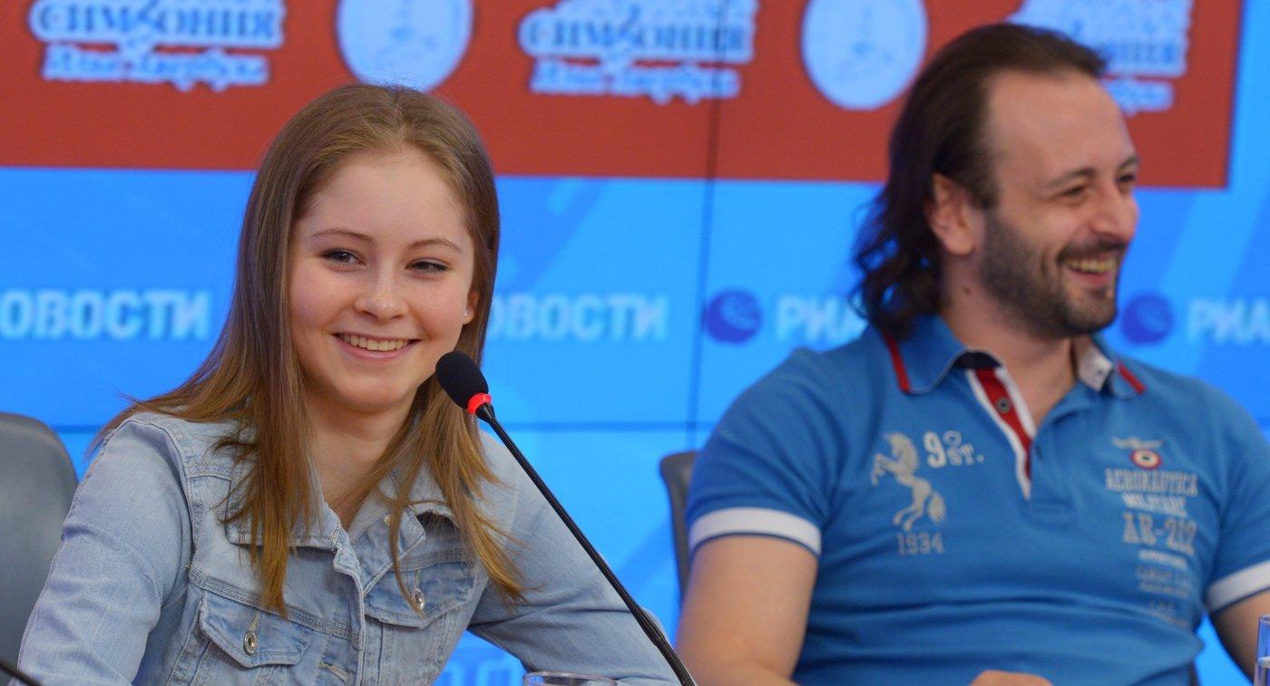 Юлия Липницкая и Илья Авербух
