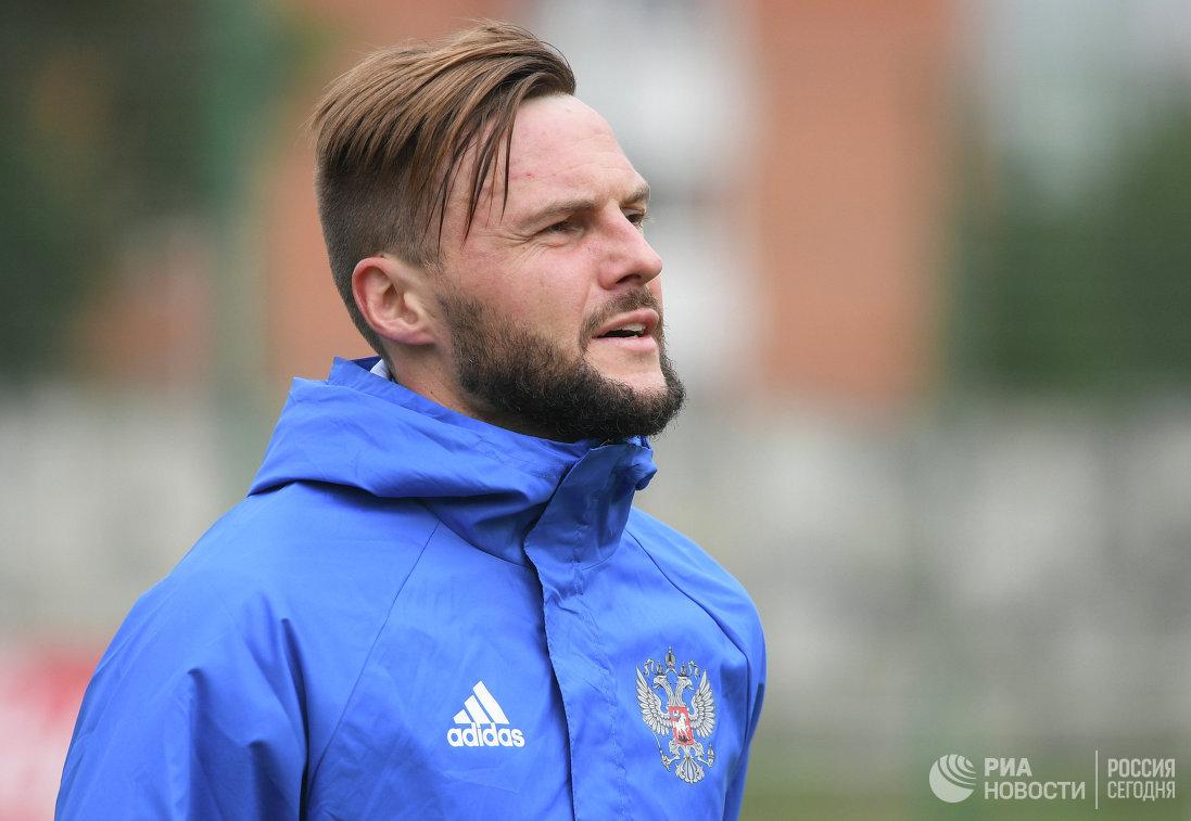 Защитник Рубина и сборной России Владимир Гранат
