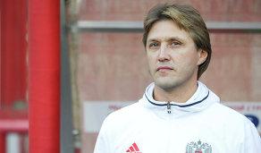 Главный тренер молодежной сборной России Евгений Бушманов