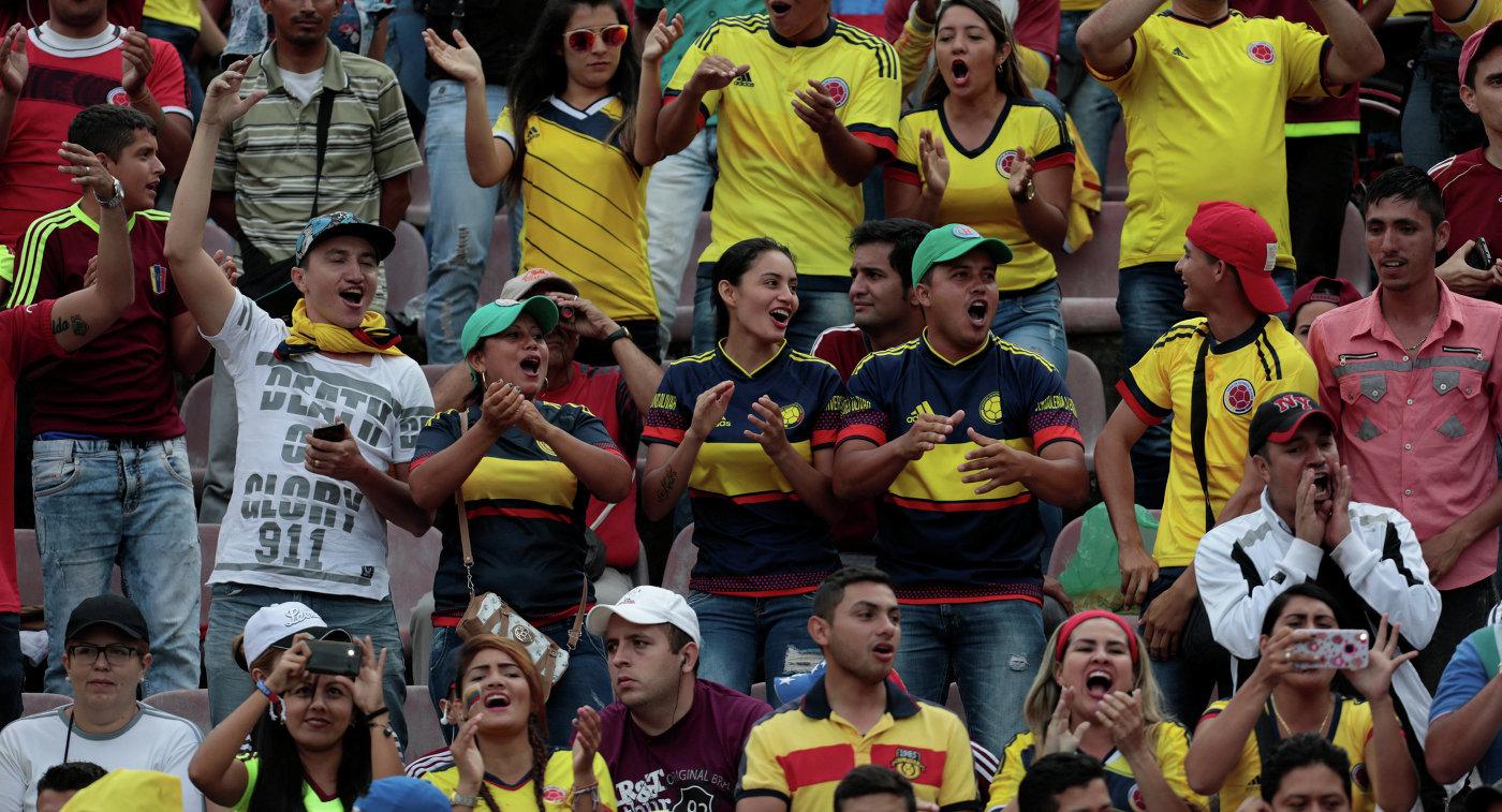 ЧМ-2018, квалификация: Колумбия — Венесуэла