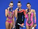 Арина Аверина, Дина Аверина и Дина Аверина (слева направо)