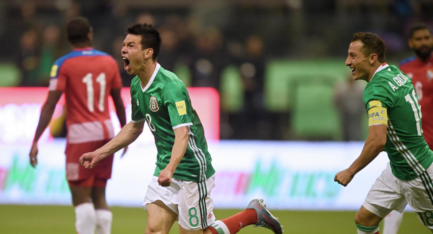 Мексика стала пятым участником ЧМ-2018 пофутболу