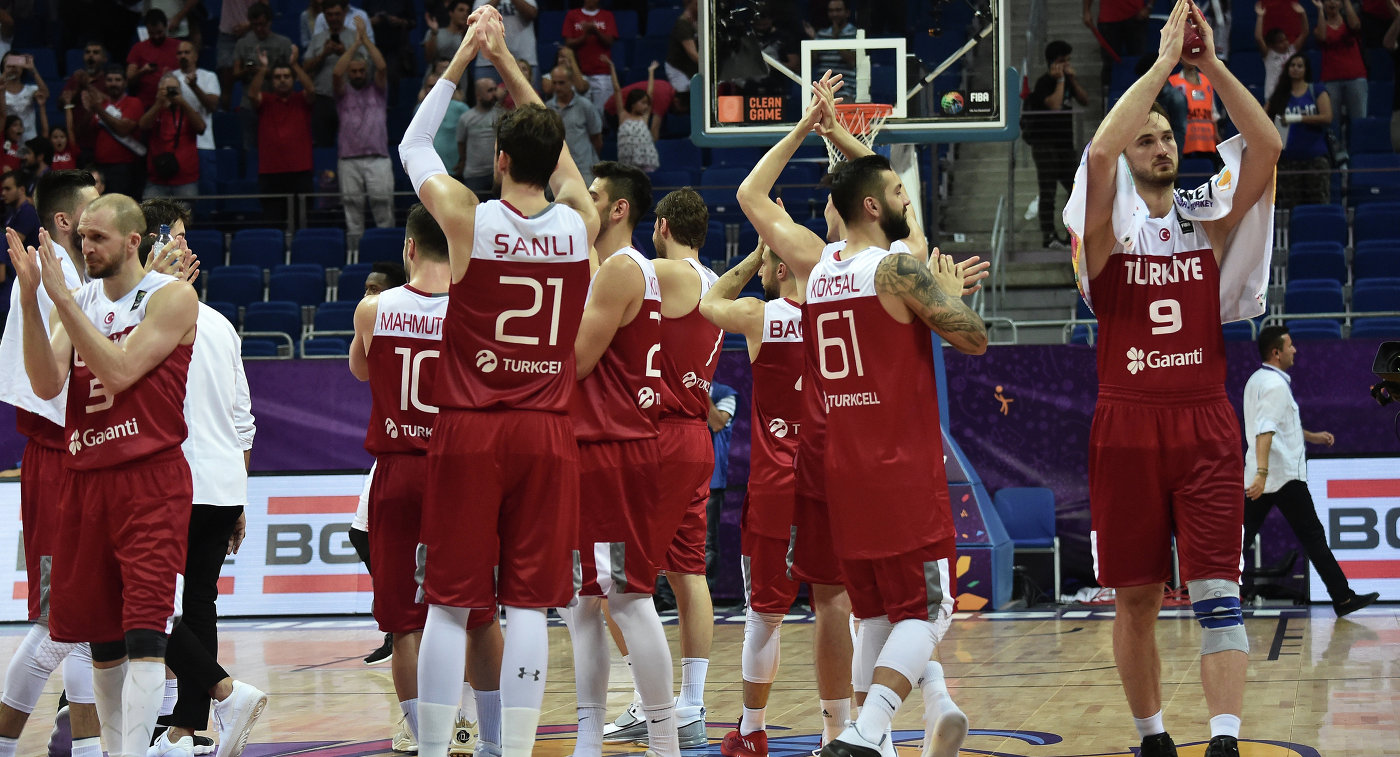 Турция результаты баскетбол