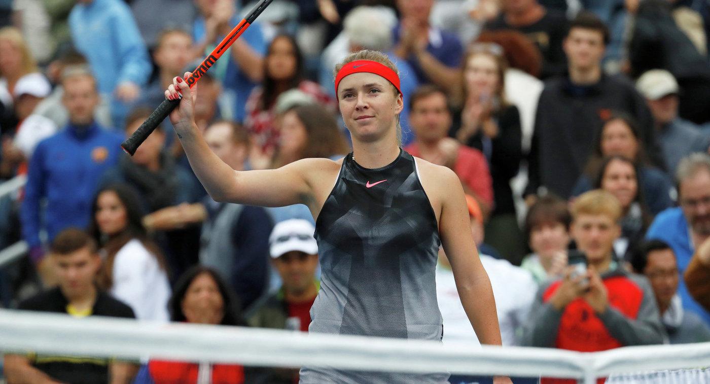 Свитолина впервый раз сыграет вФинале тура WTA вСингапуре