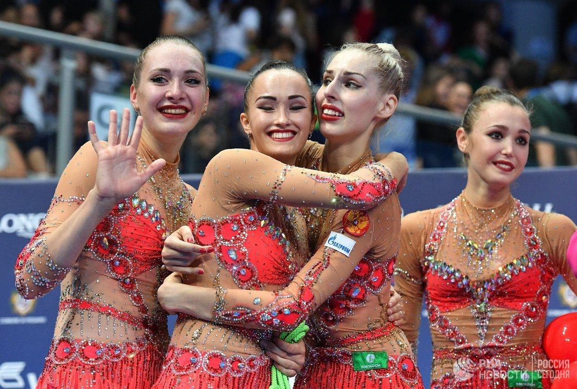 Дина Аверина выиграла еще одно золото наЧМ похудожественной гимнастике