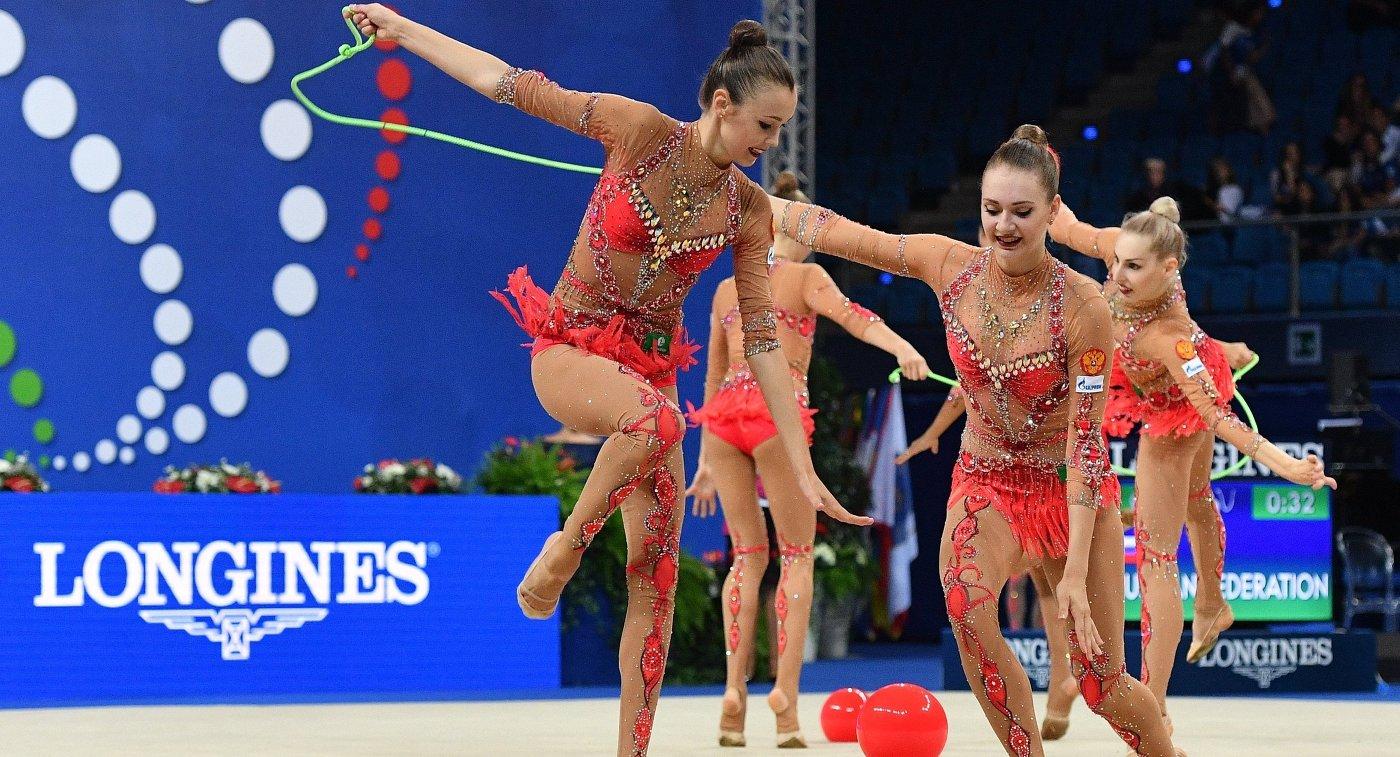 Гимнастки сестры Аверины завоеватели золотые награды в 2-х  дисциплинах наЧМ мира