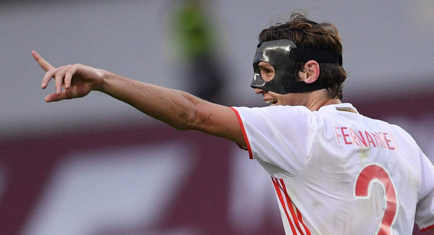Защитник сборной России Марио Фернандес