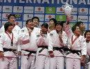 Дзюдоисты сборной Японии на чемпионате мира