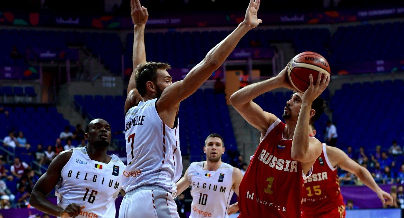 Картинки по запросу Сборная РФ по баскетболу победила команду Бельгии и досрочно вышла в 1/8 финала ЧЕ
