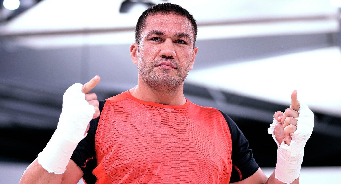 Болгарский боксер Кубрат Пулев