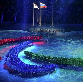 Флаги России и Международного паралимпийского комитета (IPC)