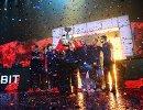 Церемония награждения победителей финала Континентальной лиги League of Legends