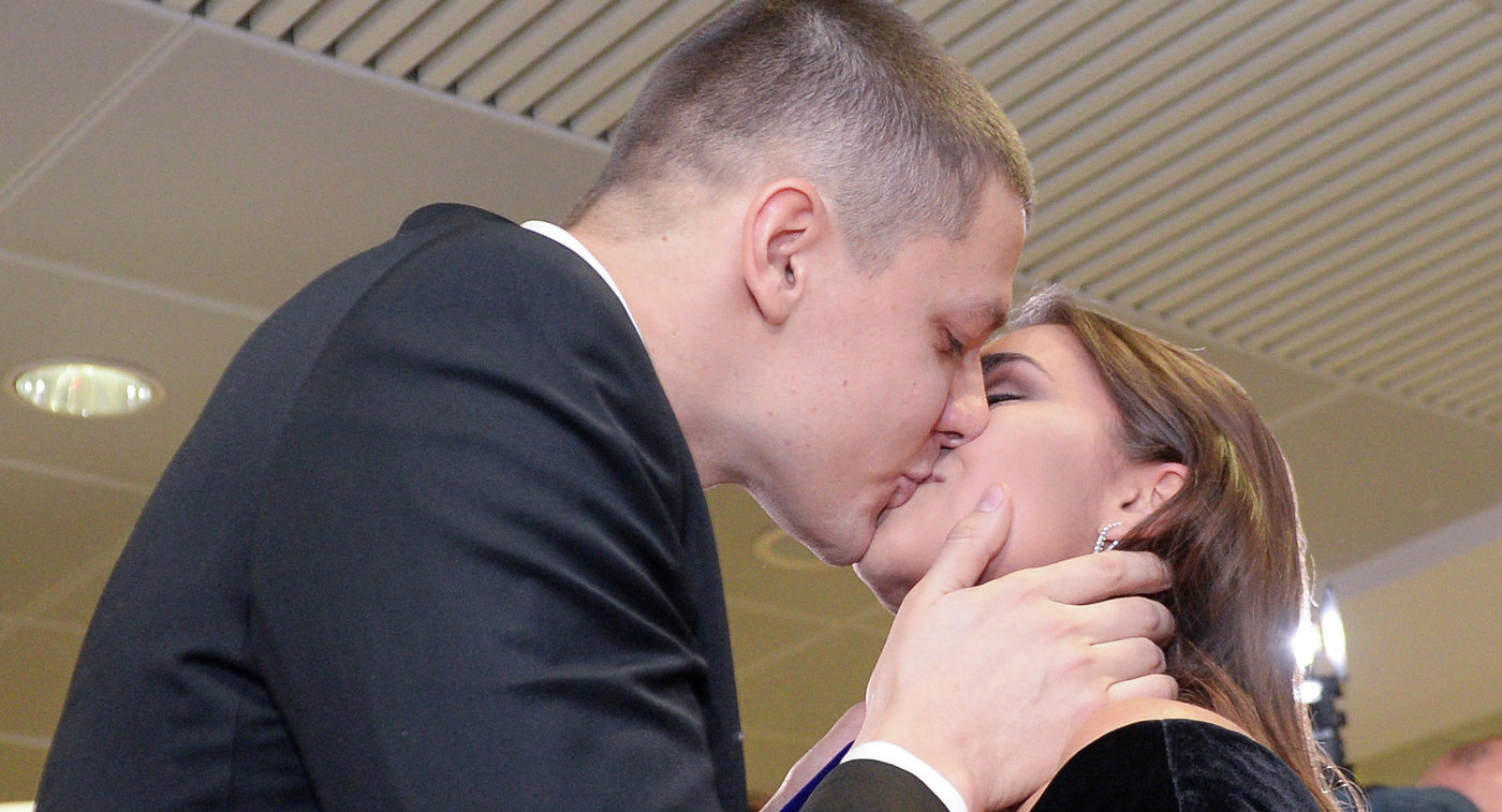 Александр Сухоруков и Маргарита Мамун