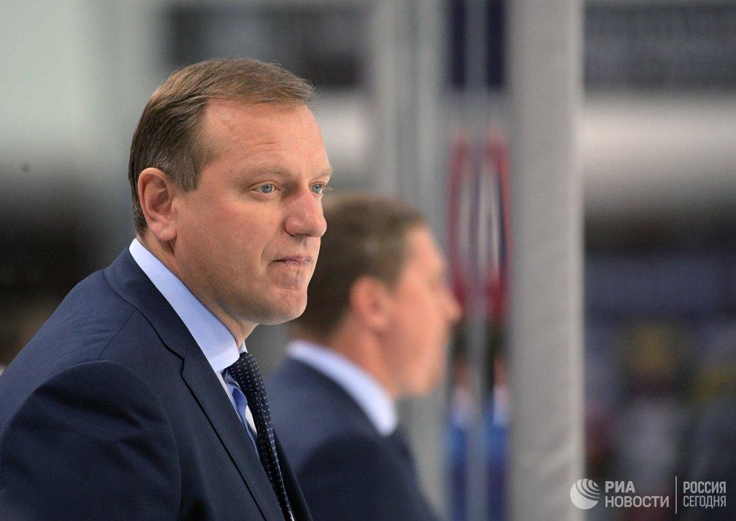 Главный тренер Динамо Владимир Воробьёв