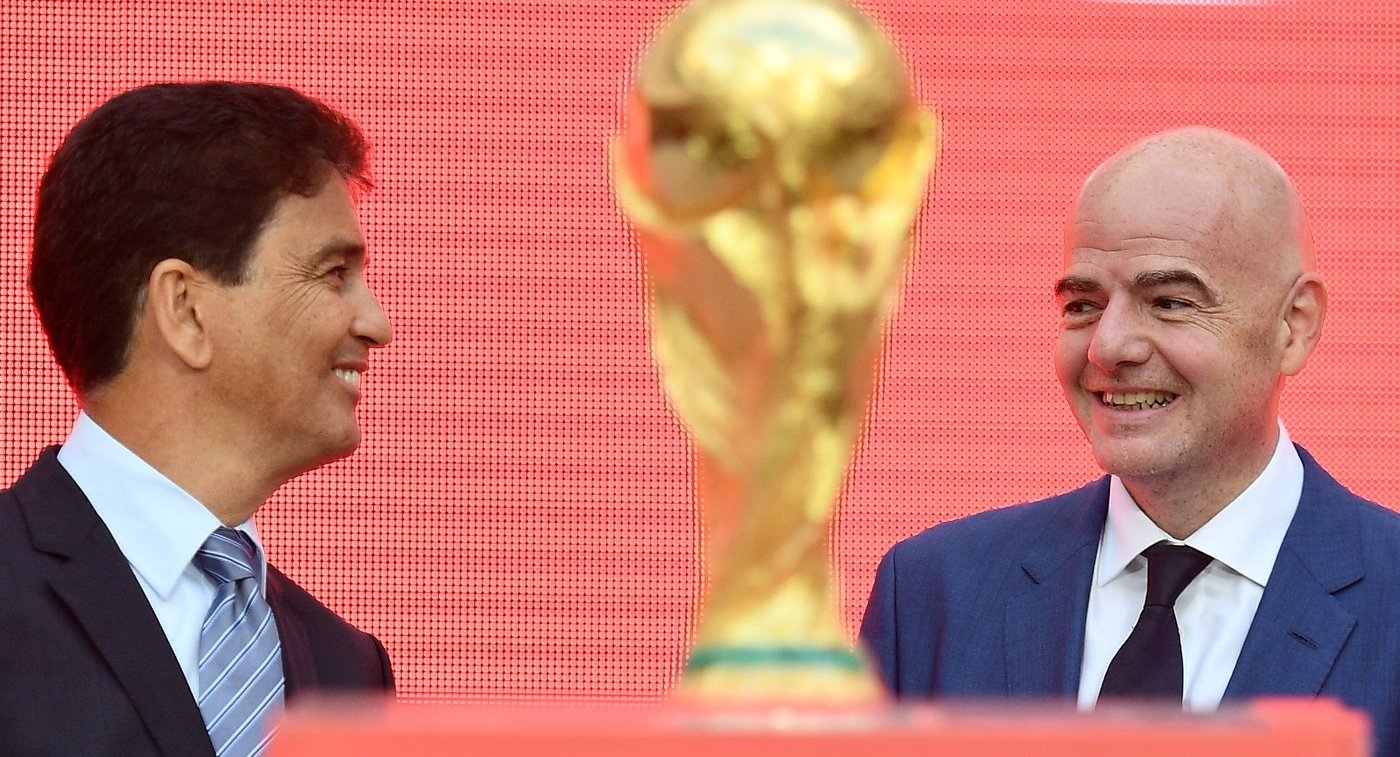 ФИФА наделила судей полномочиями прерывать матчи ЧМ-2018 из-за расизма