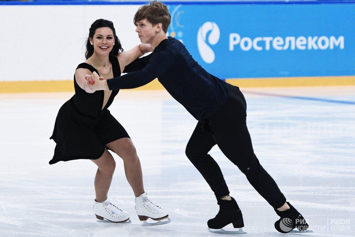 Елена Ильиных и Антон Шибнев