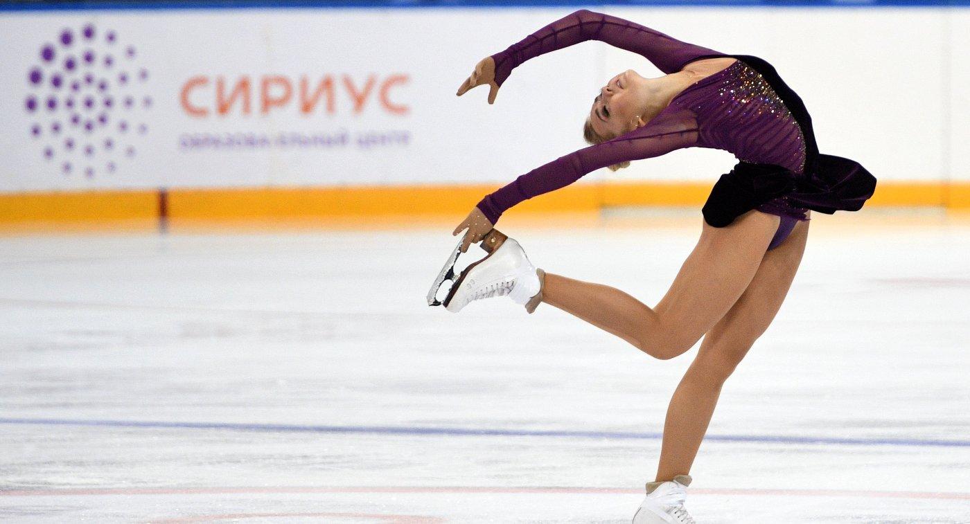 Русская фигуристка Медведева выиграла турнир вСловакии