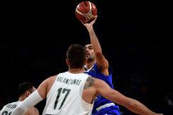 Защитник сборной Греции по баскетболу Костас Слукас