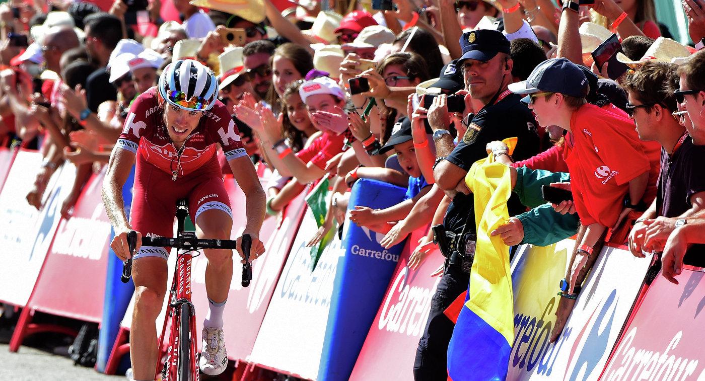 Контадор одержал победу 20-й этап «Вуэльты», Закарин финишировал сзади первой тройки
