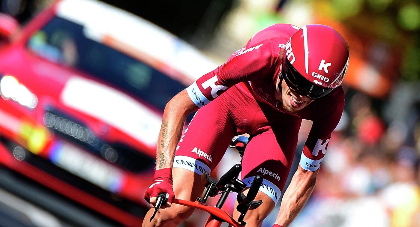 Альберто Контадор одержал победу  предпоследний этап «Вуэльты», Ильнур Закарин— четвертый