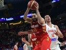 Форвард сборной России по баскетболу Никита Курбанов (№41)