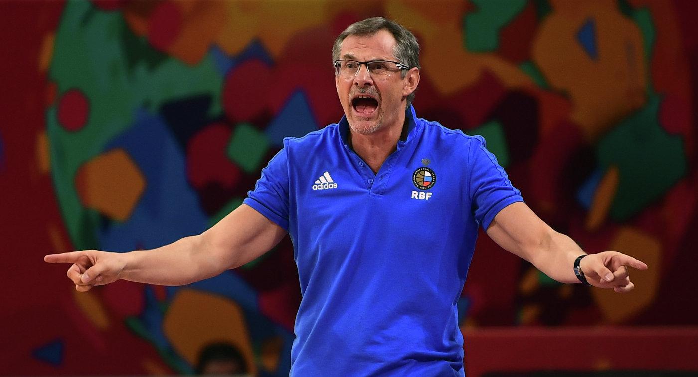 Главный тренер сборной России по баскетболу