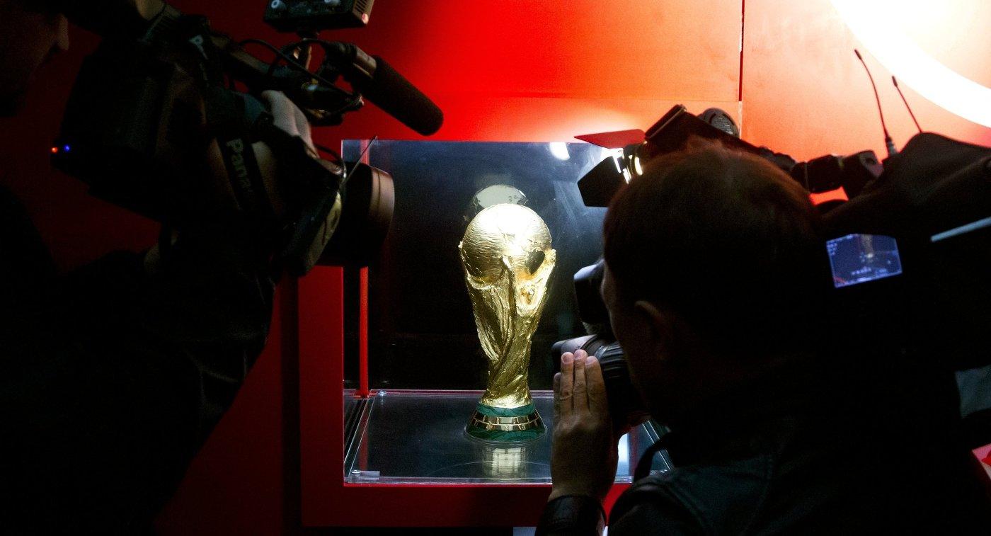 Представление кубка чемпионата мира 2018