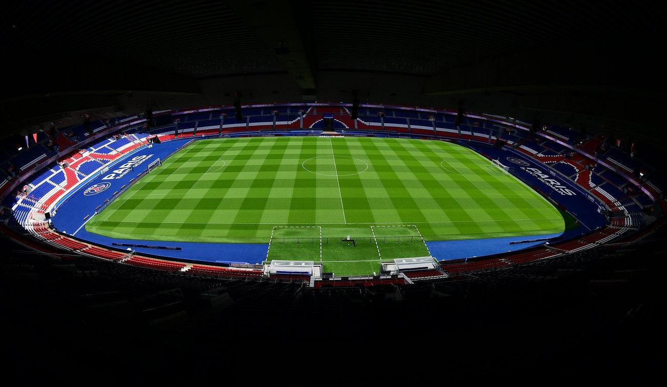 Вид на стадион Парк де Пренс