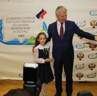 В Хабаровске вслед за награждением знаками ГТО провели единый день комплекса
