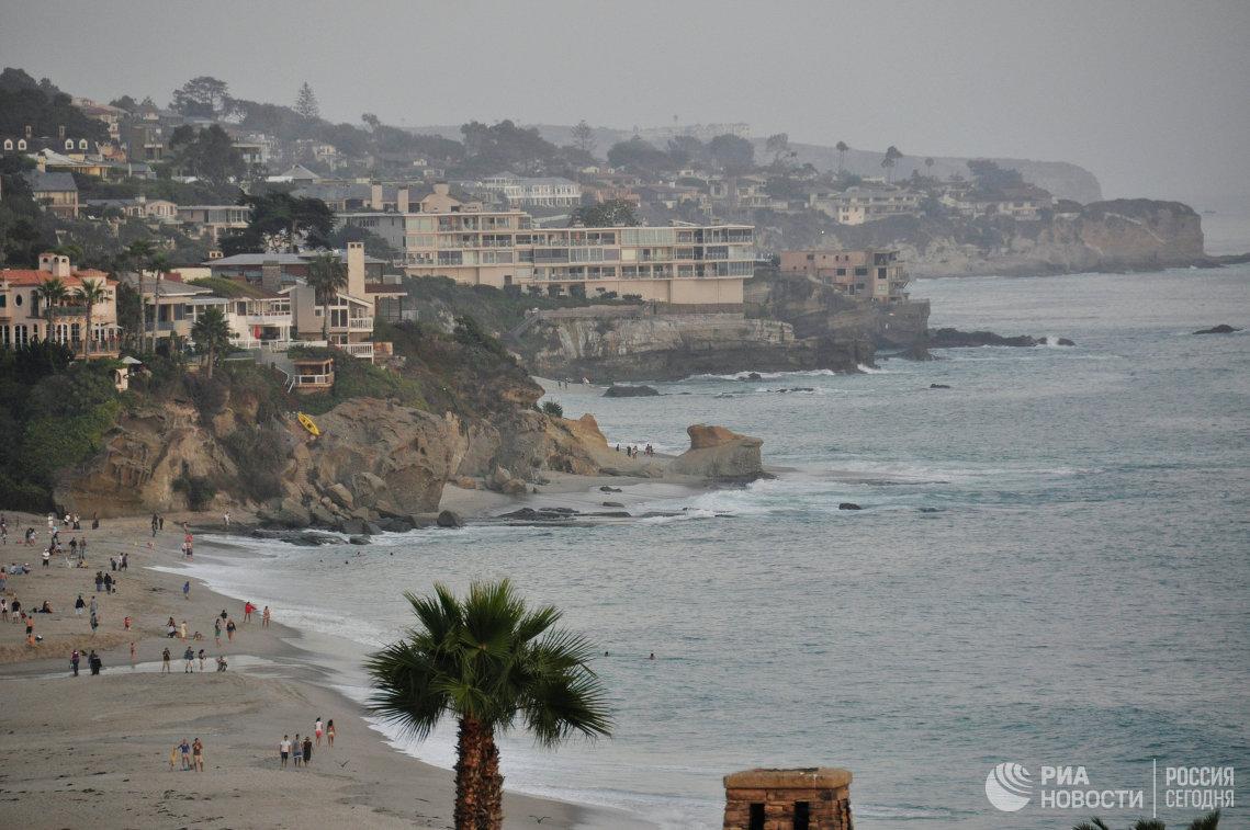 Пляж в Лос-Анджелесе
